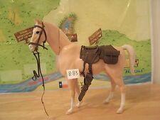 MARX JOHNNY WEST SERIES- BLOND BUCKSKIN THE KNOTTING HEAD HORSE +ACCESS.LOT B-83
