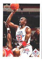 1991 UPPER DECK MICHAEL JORDAN EAST ALL STAR WEEKEND #48 BASKETBALL CARD