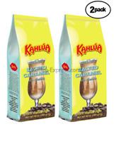 Gourmet Ground Coffee 2 BAGS 10 oz EACH Fresh Roasted Kahlua Salted Caramel
