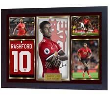 9da975b3371 New Marcus Rashford autographed Manchester United photo printed signed  Framed
