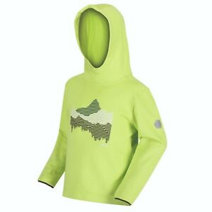 Fleecepulli Kinder Midlayer Fleece Hoodie Regatta Jnr Highton Exol Stretch