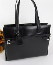 Vtg Franklin Covey Italian Leather Laptop Organizer Briefcase Attache Bag Tote