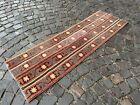 Patchwork rug, Turkish runner rug, Bohemian rug, Handmade rug | 1,8 x 5,4 ft