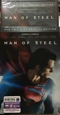 MAN OF STEEL (2 DISC SPECIAL EDITION DVD) New With Slipcover Free Shipping