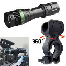 Ultrafire 6000LM CREE XML T6 LED Zoomable Bicycle Bike Flashlight+360°Mount Clip