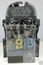 Star Wars The Black Series # 06 Yoda Action Figure #A5632 Disney/Hasbro 2014 MOC