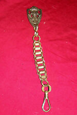 Old Sword Scabbard Belt Chain Hanger Knights of Pythias Vintage Sheath Part Clip
