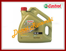 CASTROL EDGE TITANIUM FST 5W40  OLIO MOTORE TURBO DIESEL LITRI 5 VW 505.01 AUDI