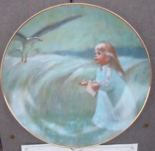 "LIMITED EDITION DECORATIVE COLLECTIBLE PLATE "" A FRIEND IN THE SKY""  by VILETTA"