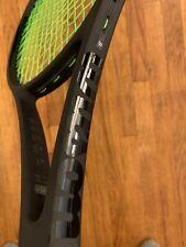 Wilson Pro Staff Roger Federer 97 Tennis Racquet - All Black - Rare
