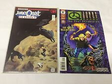 JOHNNY QUEST CLASSICS #1 (Real Adventure/Dark Horse/0815336) COMIC BOOK LOT OF 2