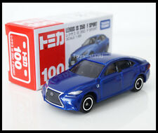 TOMICA #100 LEXUS IS 350 F SPORT 1/65 TOMY 2014 MARCH New Model Diecast Blue
