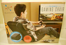 BLAKJAX FOLDABLE GAMING CHAIR!!! Compact Folding Design! BRAND NEW IN BOX!!!
