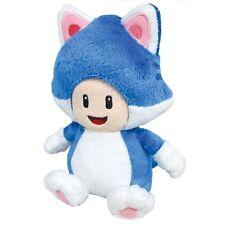 "Sale!  Sanei Super Mario 3D World 7""   Cat Toad Stuffed Plush Toy Doll"