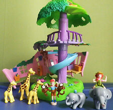 "MINI POLLY POCKET ""ANIMAUX DE LA JUNGLE POLLY "" 2000 BLUEBIRD TBE VINTAGE !!!!"