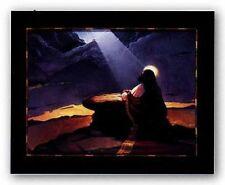 AFRICAN AMERICAN ART Jesus At Mt Olive Lionel Talaro
