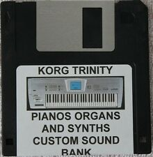 "Korg Trinity Synthesizer ""Pianos, Organs and Synths"" Custom Program Disk"