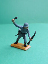 Britains Deetail WWII soldat d'infanterie allemand German infantery soldier #3
