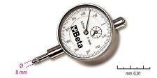 Beta Tools 1662/2 Dial Gauge Test Indicator in Hard Plastic Case 0-10mm DTI