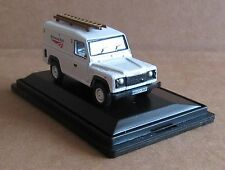 OXFORD DIECAST LAND ROVER DEFENDER NETWORK RAIL 1:76 SCALE MODEL CAR LADDERS