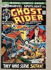 Marvel Spotlight #7-1972 vg+ 3rd solo Ghost Rider Mike Ploog
