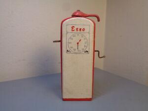 HANSE ( LEGO DENMARK) VINTAGE 1950'S WOOD ESSO PETROL STAND VERY RARE ITEM VG
