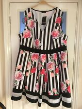 Ladies Clothes Size 26 / 28 Yours Clothing Summer Party Dress New (77)