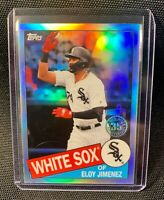 2020 Topps Chrome Eloy Jimenez #85TC-11 1985 Retro Refractor 35th White Sox