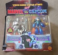 Toy Biz Marvel VS Capcom War Machine VS Megaman Rockman 2 set figures