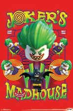 LEGO BATMAN - JOKER'S MADHOUSE POSTER - 22x34 - 14885