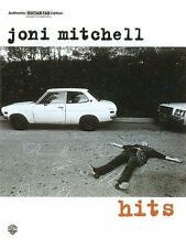 Joni Mitchell: Hits (Authentic Guitar-Tab) ,PG9666