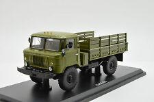 Very RARE !!!! Gaz 66 Army Truck SSM 1007 Russian USSR 1/43