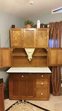 Oak Hoosier Kitchen Cabinet