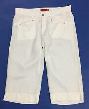 Liu jo shorts lino donna usato bianco w31 tg 45 vita bassa sexy estivo T4050