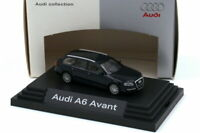 1:87 Audi A6 Avant C6 nachtblau blau blue - Dealer-Edition - Busch 5010406242