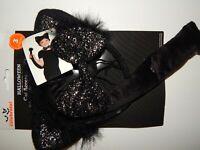 Costume Cat Accessory Kit Headband Ears Bow Tie Tail Kids Halloween Black Kitten