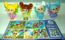 BABY FAIRIES COMPLETE SET WITH ALL PAPERS KINDER SURPRISE 2015/2016