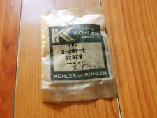 BUYING   ( 1)   Kohler Parts X-174-2-S Screw F.H.M. 1/4-20x5/8 Engine KO-X1742S