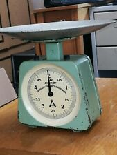 Old Russian kitchen scales,rare model,5kg.Metallic,excellent working.