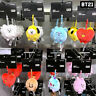 BTS BT21 Official Authentic Goods Standing Plush Mini 11cm 7Characters + Track