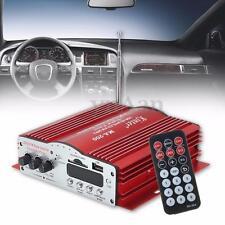 4CH 4*41W HiFi Audio Stereo Amplifier AMP Home Car MP3 Speaker FM USB SD Player