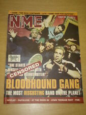 NME 2000 AUG 5 BLOODHOUND GANG OASIS ATARI TEENAGE RIOT