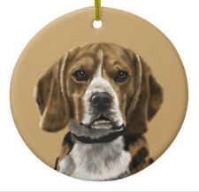 Beagle Ornament -Personalize with Name - Great as Christmas Gift!