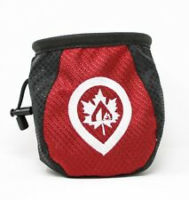 Climbing Chalk Bag, Red - New - Maple Canyon Outdoors