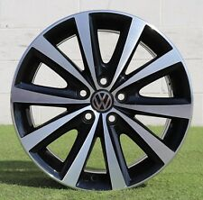 Cerchio Originale Volkswagen 16 Polo Nero Felgen Wheel