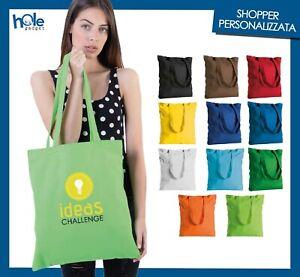 Shopper Personalizzate Cotone Shopping Bag Gadget Personalizzati per Aziende 9