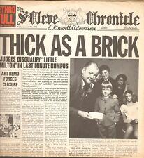Jethro Tull – Thick como a Brick - Crisálida – 040 1003-Ita 1972