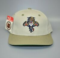 Florida Panthers Twins Enterprise Vintage 90s Spell Out Snapback Cap Hat - NWT