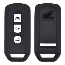 Silicone Scooter Smart Key Case Fob Cover For Honda PCX SH 125 150 3 Button