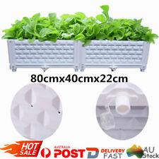 Raised Planter Box Plastic Garden Bed Vegetable Plant Holder Balcony Box AU